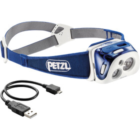 Petzl Reactik Linterna frontal, blue
